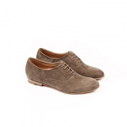 HESCHUNG - CALI Cachemire Taupe Cuir P
