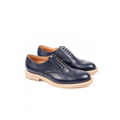 ANDY Navy Apache Cuir