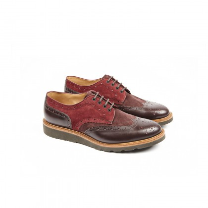 HESCHUNG - COX Anilclaf/Velours Bordeaux/Prune Trapper