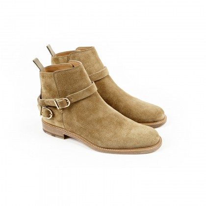 ODYSSEE Sepia Velours Cuir