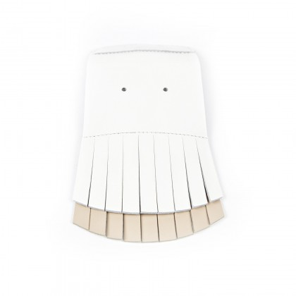 PATTES MEXICAINES FE Bali Blanc/Nude