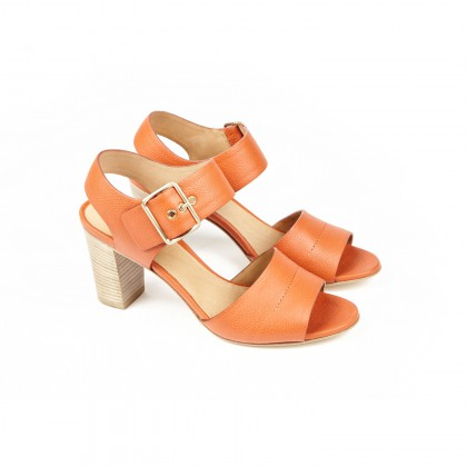 COROLLE Orange Volonato Cuir