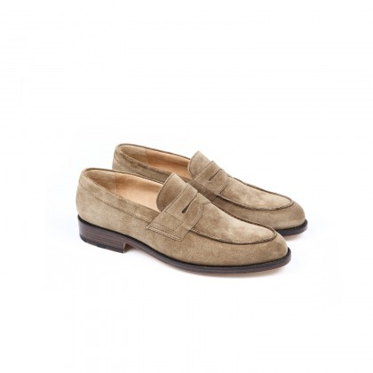 POLLEN Velours Tabac Cuir