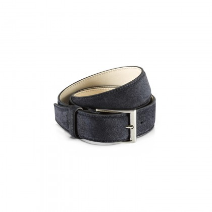BELT Navy Velours