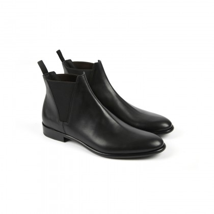 VARESE Black Softycalf Cuir