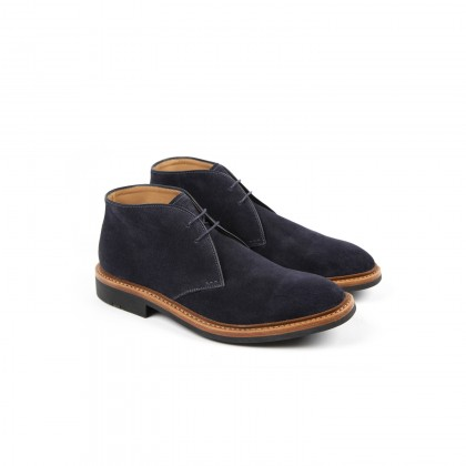 GENET Hydrovelours Navy Puccini