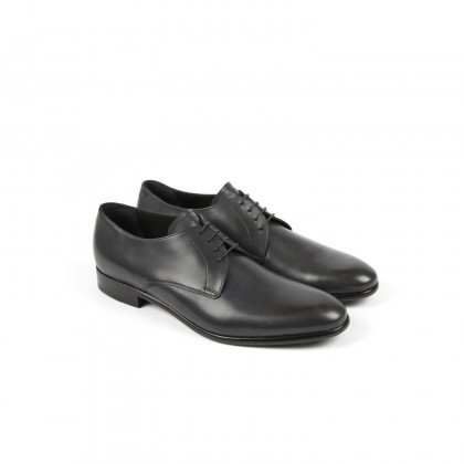 LUGANO Softycalf Anthracite Cuir